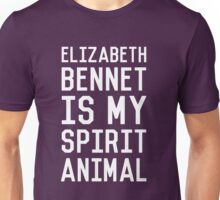 Elizabeth Bennet_White Unisex T-Shirt