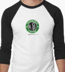 Starbuck's Coffee Men's Baseball ¾ T-Shirt