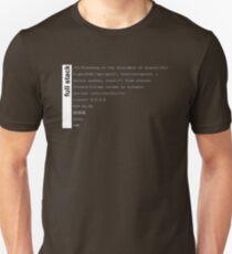 Full stack developer Unisex T-Shirt