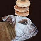 Guardian of the bagels by Vicki Sawyer