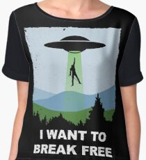 I Want to Break Free - Freddie Returns to Mercury Chiffon Top
