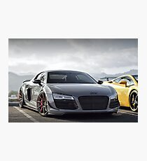 Audi R8 Photographic Print