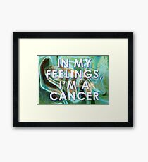 Sensitive Cancer  Framed Print