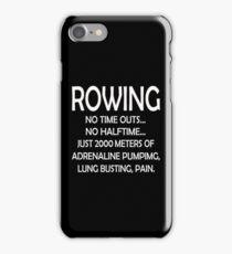 2000 Meter Rowing iPhone Case/Skin
