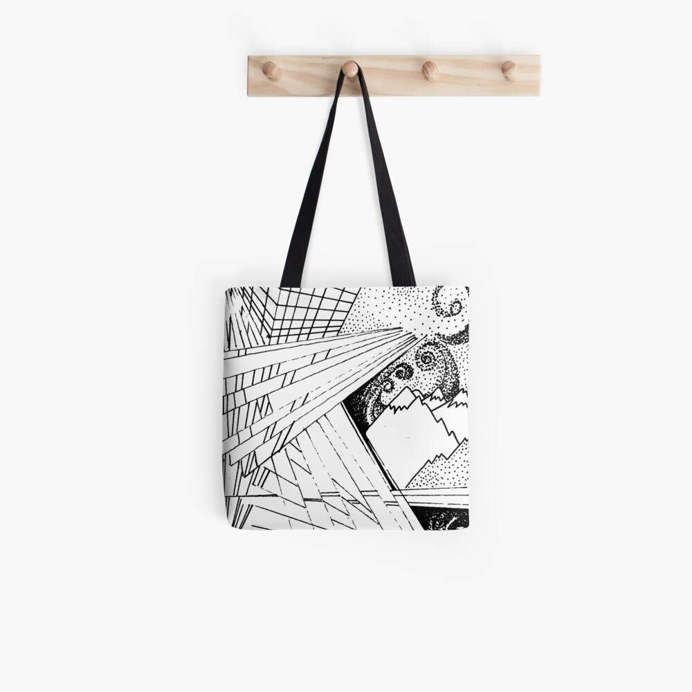 Skyline Stars and Slopes Tote Bag