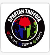 Spartan Trifecta Race Sticker
