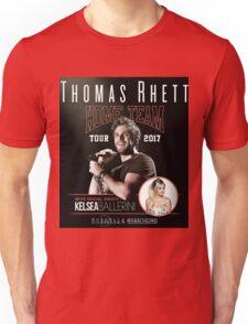 BRDR06 Thomas Rhett Kelsea Ballerini Home Team Tour 2017 Unisex T-Shirt