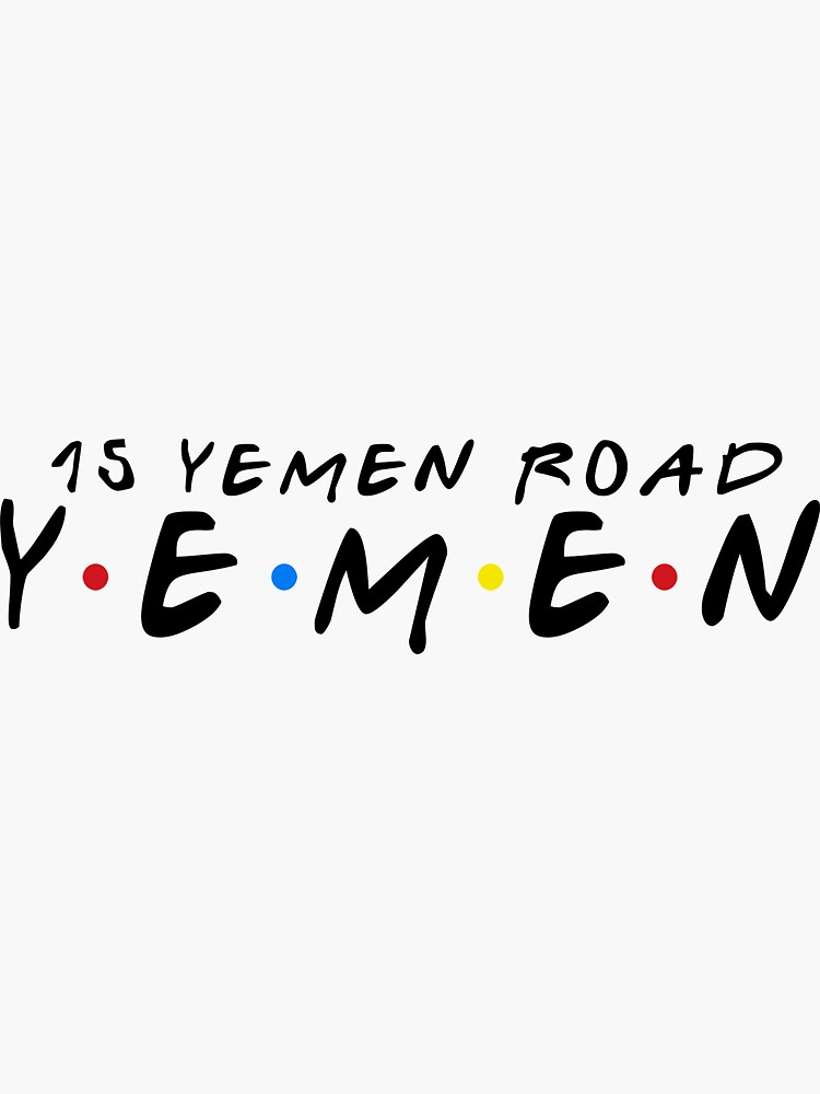 15 YEMEN ROAD YEMEN by funkythings