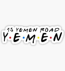 15 YEMEN ROAD YEMEN Sticker