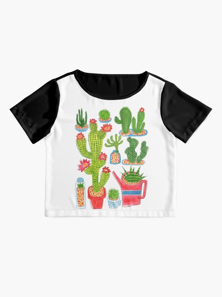 Alternative Ansicht von Kaktus Chiffon Top