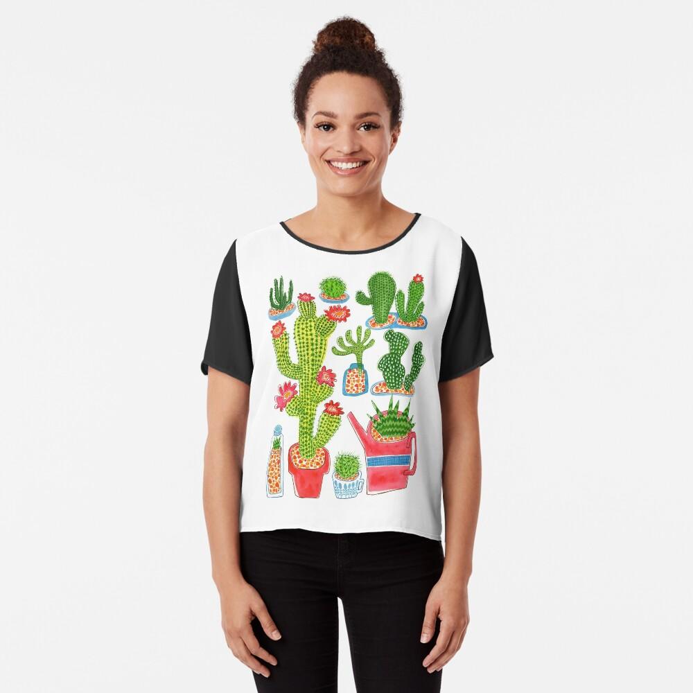 Kaktus Chiffon Top