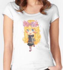 Luna Lovegood Chibi Women's Fitted Scoop T-Shirt