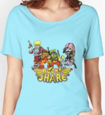 Bucky O'Hare - Group Logo - Color Women's Relaxed Fit T-Shirt
