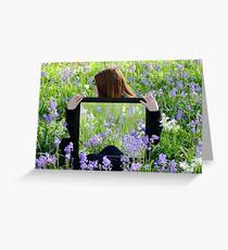 Spring Reflections - Christchurch Botanic Gardens Greeting Card