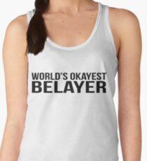 World's okayest Belayer Women's Tank Top