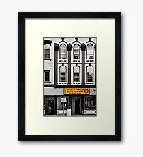 Wong Kwon - selective colour Framed Print