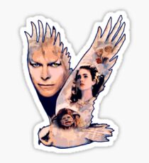 labyrinth owl Sticker
