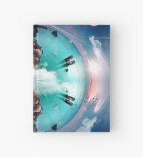 It's a small world Hardcover Journal