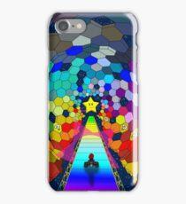 The rainbow road iPhone Case/Skin
