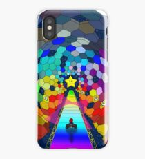 The rainbow road iPhone Case