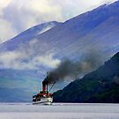 Steamship on the Lake by John Wallace