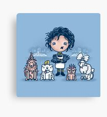 Edward's Pet Shop Canvas Print
