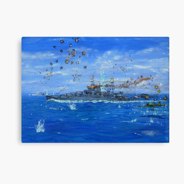 Battle of Hawaii Canvas Print