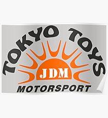 Tokyo Toys JDM Motorsport Poster