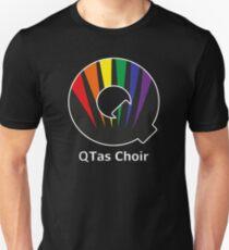 QTas Choir Logo (official choir performance shirt)  Unisex T-Shirt