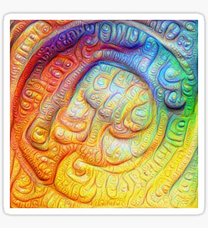 Color Foam #DeepDream V2 Sticker