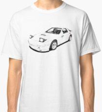 Initial D Mazda RX7 FC White Comet Classic T-Shirt