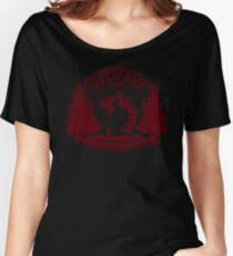 Pokemon - The Lake of Rage - Red Gyarados Women's Relaxed Fit T-Shirt