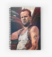 Die Hard Spiral Notebook