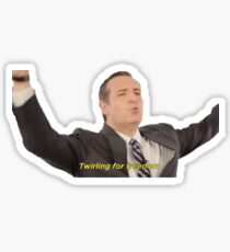 Twirling for freedom! Sticker