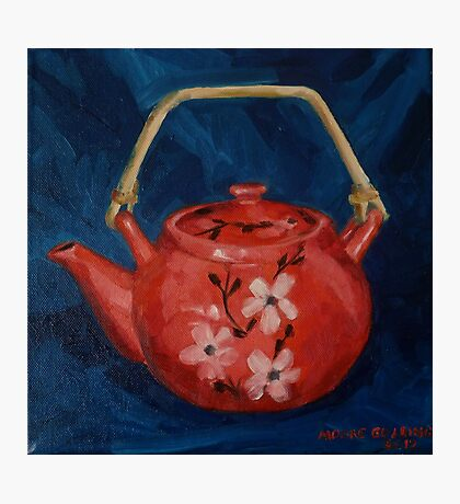 The Red Teapot. Oil on linen. 2012 Photographic Print