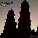 Captioned Zapopan Cathedral by KaytLudi