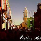 A Street in Puebla, Mexico by KaytLudi