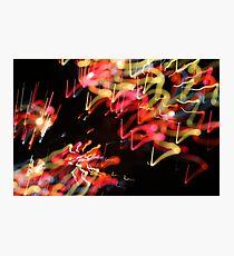 fireworks 15/8/14 Photographic Print