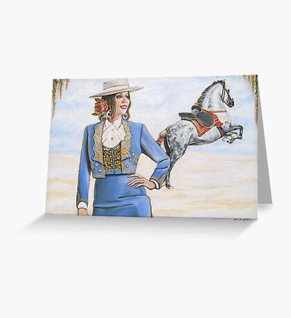 Rocio Charm Greeting Card