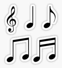 music notes music Sticker