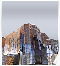 Corporate Glass Building. Poster