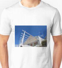 White architecture in Santorini, Greece T-Shirt