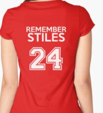 Remember Stiles - Teen Wolf Women's Fitted Scoop T-Shirt
