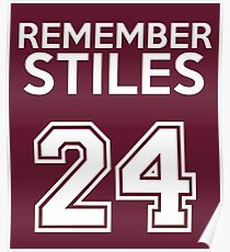 Remember Stiles - Teen Wolf Poster