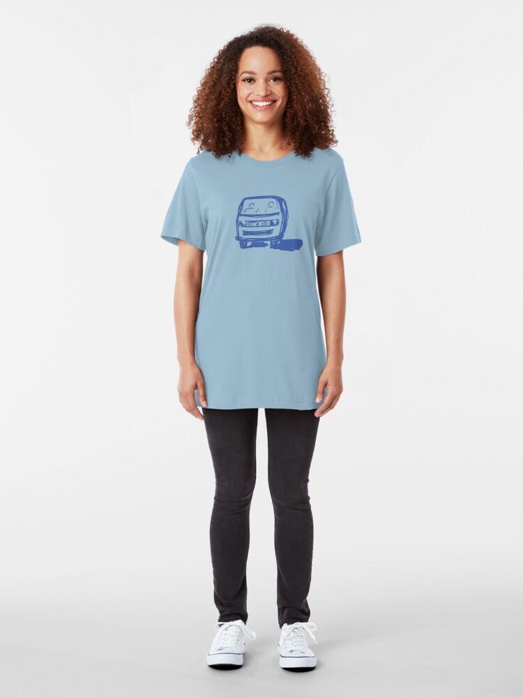 Vista alternativa de Camiseta ajustada camioneta