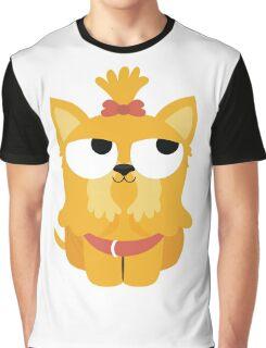 Shih Tzu Emoji Thinking Hard and Hmm Face Graphic T-Shirt