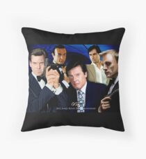 James Bond 50th Anniversary Poster Throw Pillow