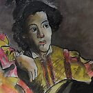 Postcard from Europe - a study of Caravaggio by Gary Shaw