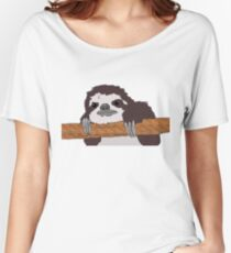 Roberto el Perezoso Camiseta ancha para mujer