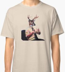 Deer Man, Thumbs Up Classic T-Shirt
